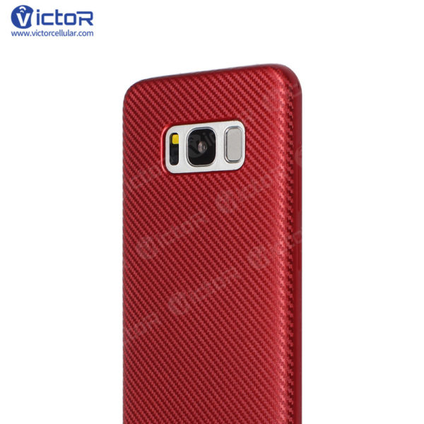 carbon fiber phone case - phone case for Samsung s8 - protective phone case - (11)