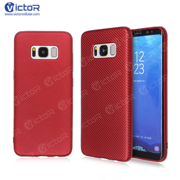 carbon fiber phone case - phone case for Samsung s8 - protective phone case - (12)