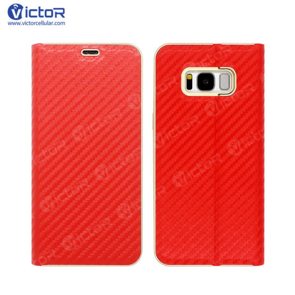 s8 leather case - leather phone case - case for S8 - (1)