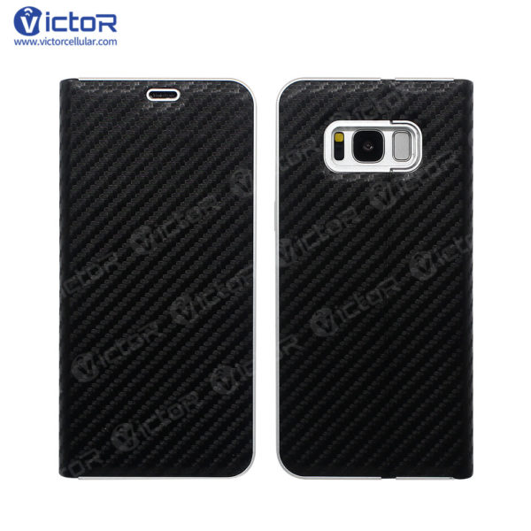 s8 leather case - leather phone case - case for S8 - (2)
