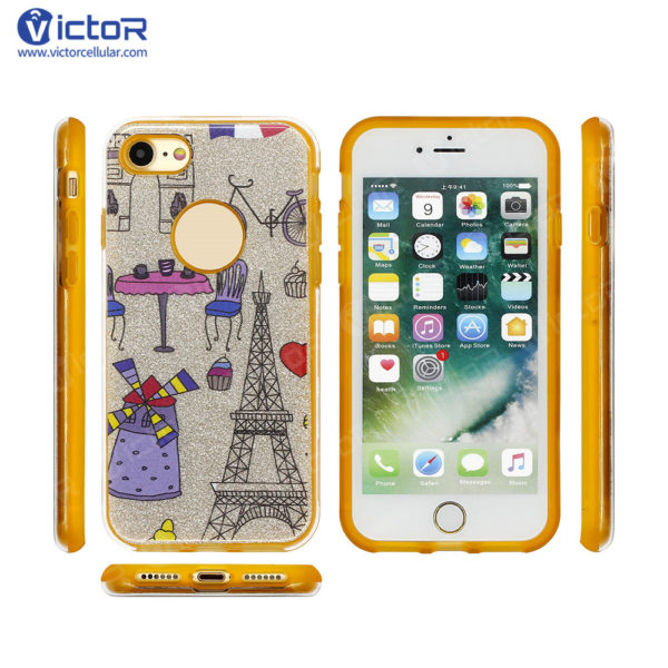 clear phone case - combo case - case for iPhone 7 - (10)