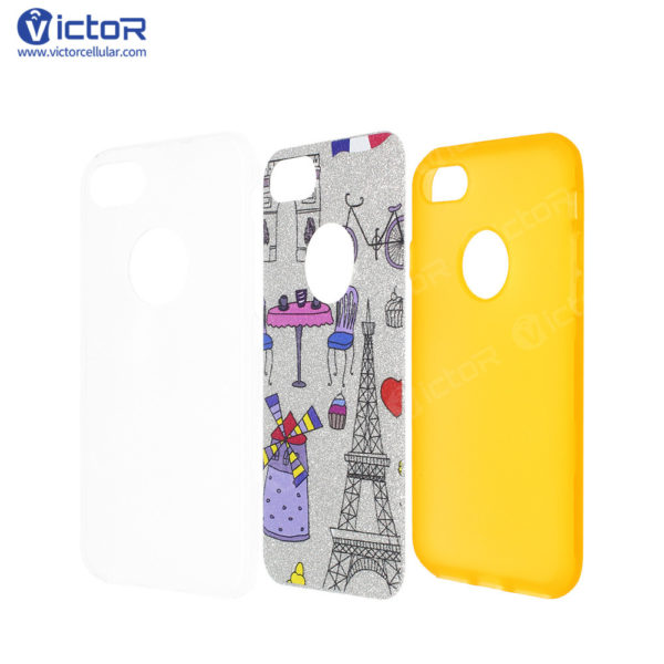clear phone case - combo case - case for iPhone 7 - (12)