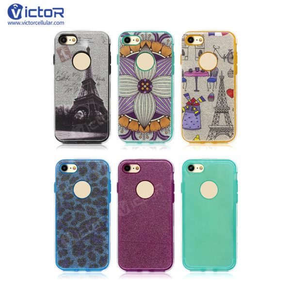 clear phone case - combo case - case for iPhone 7 - (14)