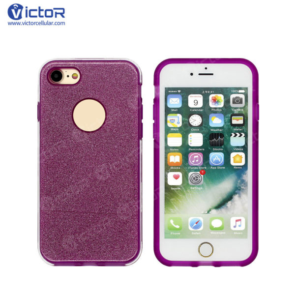 clear phone case - combo case - case for iPhone 7 - (20)