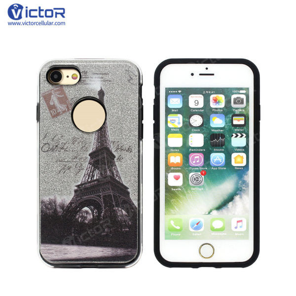 clear phone case - combo case - case for iPhone 7 - (5)