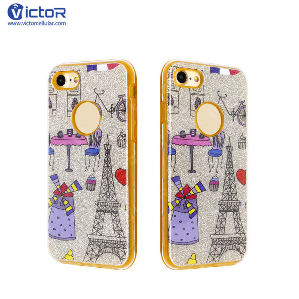 clear phone case - combo case - case for iPhone 7 - (8)