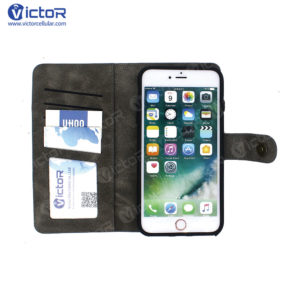 wallet case - leather phone case - leather case iPhone 7 - (1)