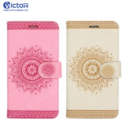 wallet leather case - leather phone case - case for samsung - (10)