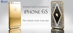 24k gold iphone 6s - iphone accessories suppliers - customize iphone 6s - 1