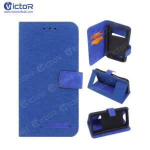 5.5 inch phone case - universal phone case - wallet leather case - (3)