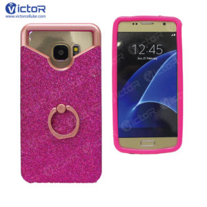 universal silicone phone case - case with ring - universal case - (1)