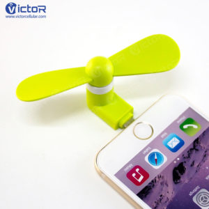 phone fans - cooling fan on phone - mobile accessories - 1