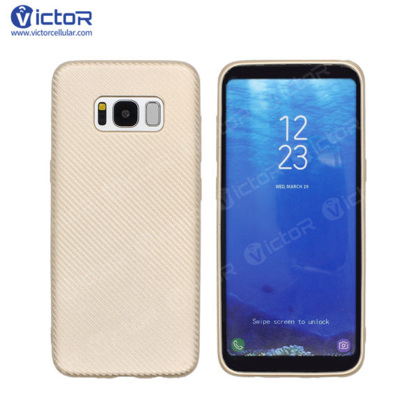 carbon fiber phone case - phone case for Samsung s8 - protective phone case - (3)
