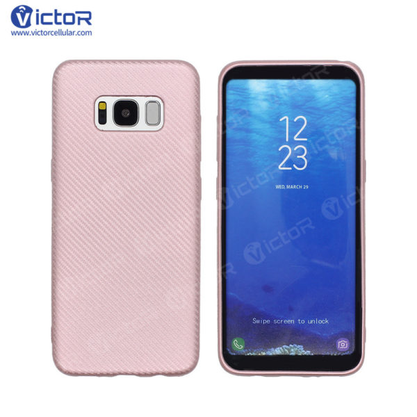 carbon fiber phone case - phone case for Samsung s8 - protective phone case - (4)