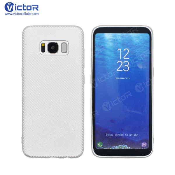carbon fiber phone case - phone case for Samsung s8 - protective phone case - (5)