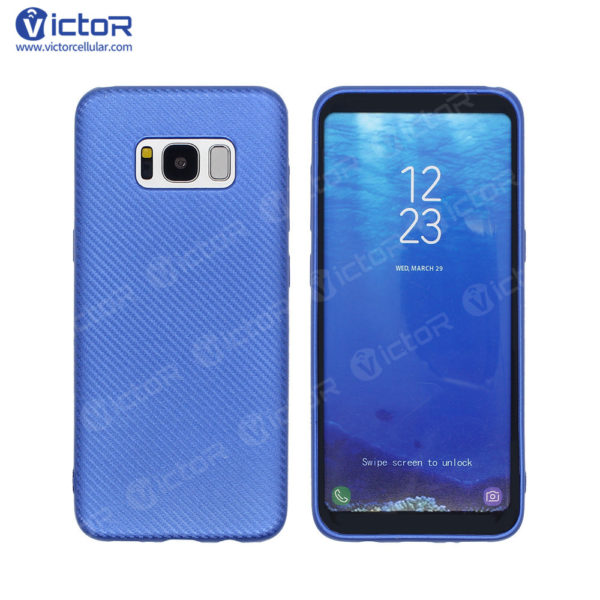 carbon fiber phone case - phone case for Samsung s8 - protective phone case - (6)