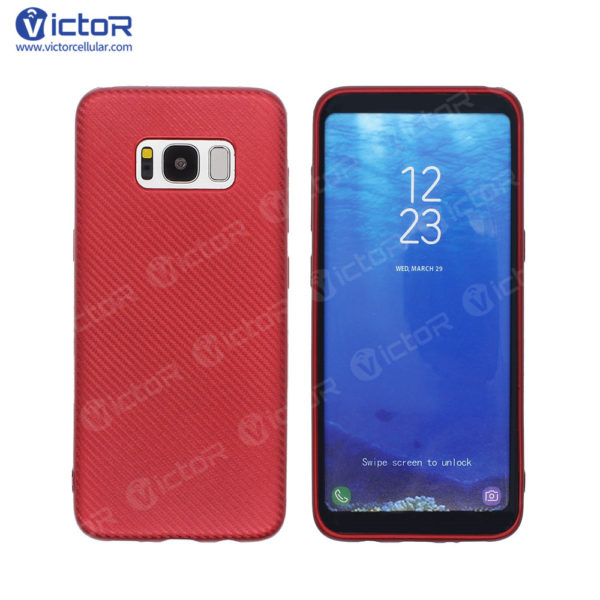 carbon fiber phone case - phone case for Samsung s8 - protective phone case - (7)