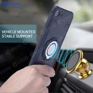 car phone case - phone case with ring - case for iPhone 7 - (6)