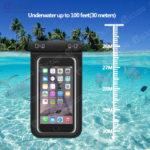 waterproof bag - mobile phone bag - phone bag - (3)