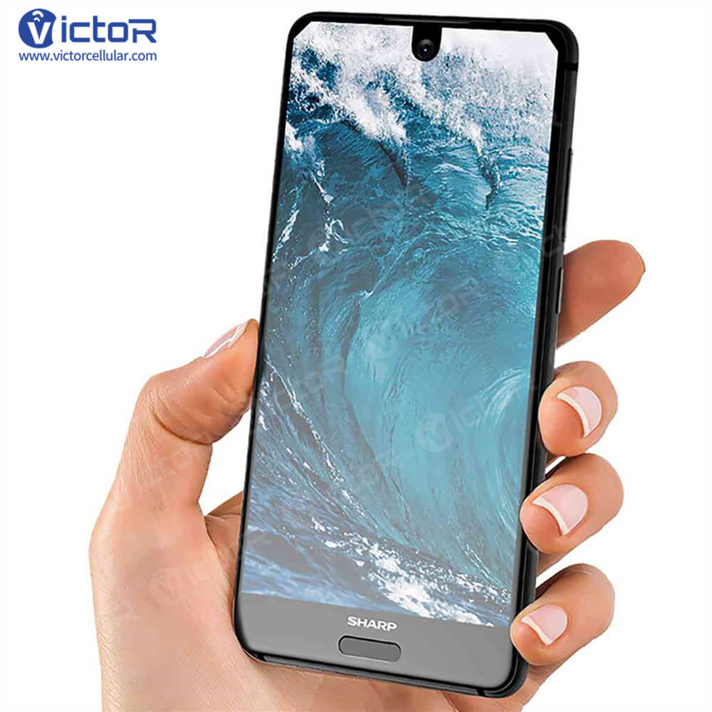 sharp aquos s2 - high smartphone technology - bezel less smartphone - 1